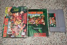 Donkey Kong Country 1 (Super Nintendo SNES, 1994) Complete GREAT A B C D E