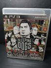 Sleeping Dogs CIB (PS3)  COMPLETE Tested Fast Shipping