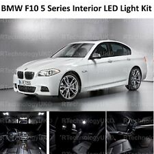 PREMIUM BMW F10 5 Series FULL LED Light UPGRADE WHITE XENON Interior KIT