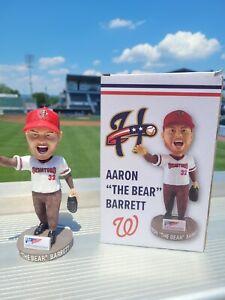 Aaron Barrett Bobblehead Harrisburg Senators SGA 6/6/21 New