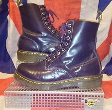 Rare*Pascal 1460*Potent Purple Buttero Leather Dr Martens*Goth*Punk*Steampunk*7