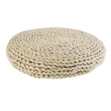 Hand Weave Round Straw Cushion Meditation Mat Straw Mat Yoga Tatami Cushions