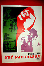 NIGHT OVER CHILE 1978 RUSSIAN NOCH NAD CHILI OLEGAR FEDORO EXYU MOVIE POSTER