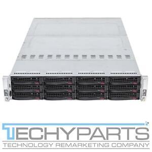 SUPERMICRO 6028TP-DNCR 2U SuperServer 2-Node X10DRT-P 4x LGA2011v3 E5-2600v3/v4
