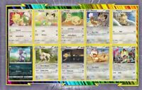 🌈Lot de 10 cartes Miaouss Et Persian différentes Françaises Neuves - Pokemon