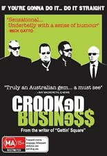 Crooked Business (DVD, 2009) Brand New & Sealed (RARE)