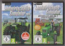 LANDWIRTSCHAFTS SIMULATOR 2011 + ADDON 2 Klassiker der Landwirtschaft Bauernhof