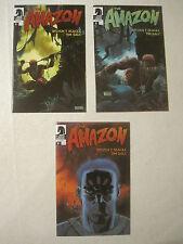 The Amazon # 1 2 3 Dark Horse comic book set  NM-