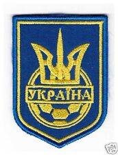 Ukrainian Patch Embroidered Emblem - Logo Football Team of Ukraine Soccer Tryzub