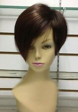 CHWG74  charming short  Brown straight health Women's Wig wigs for women