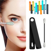 Reusable Silicone Sticks Cotton Swab Buds Cosmetic Makeup Tool for Ear Cleaning