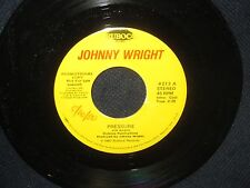"Johnny Wright ""Pressure/Harry Truman"" 45 PROMO"