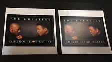 MICHAEL JORDAN & MUHAMMAD ALI Chevrolet LOT of 2 VINTAGE Sticker DECALS New RARE