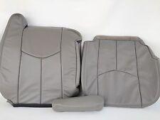 "03-06TAHOE/SILVERADO/SUBURBAN VINYL COMPLETE PASSNGR SEAT COVER PEWTR""GRAY""#922"