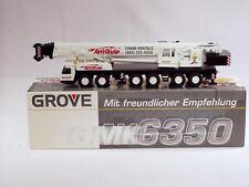 """Grove GMK6350 Truck Crane - """"AM-QUIP"""" - 1/50 - Conrad #2091.02 - MIB"""