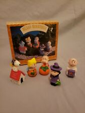 1996 Hallmark Merry Miniatures Peanuts Pumpkin Patch 5-Piece Set with box
