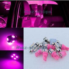 14Pcs Pink Car Interior LED SMD Lights Package Kit for 2007-2014 GMC Sierra