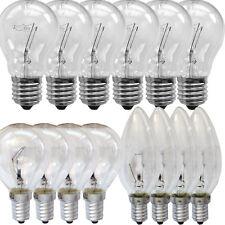 Glühbirne, Glühlampe, 25 40 60 75 100 Watt Glüh Lampe Birne Kerze Kugel E27 E14
