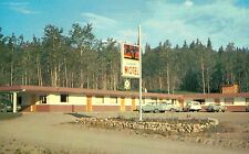 Burns Lake,B.C.,Canada,Sunset Motel,c.1950s