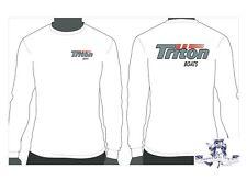 Triton Boats Long Sleeve Grey Logo T-Shirt