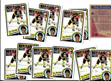 RAY BOURQUE LOT OF 12 HOCKEY CARDS 1984-85