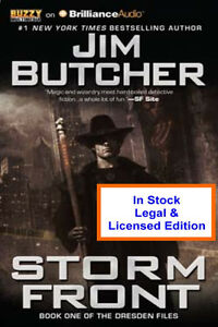 Storm Front Audiobook by Jim Butcher - Read by James Marsters