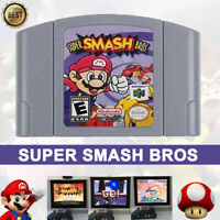 Super Smash Bros Video Game Cartridge Console Card For Nintendo N64 FAST SHIP