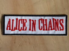 M097 PATCH PATCH TOPPA AUFNAHER TERMO-ADESIVO ALICE IN CHAINS biker hard rock
