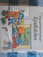 The Letter People Spellables - Letter Alphabet Cards - Homeschool or Classroom