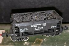 Atlas N Scale Soo Line Ore Car With Coal Load And Case