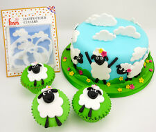 FMM Fluffy CLOUD Cutters Trees Smoke Sheep Sugarcraft and Cake Decorating