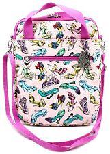 Disney Parks Princess Heels Shoe Shoes iPad Tablet Purse Case Crossbody Pink Bag
