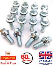16 x alloy wheel M12 x 1.25 Wobble Wobbly Vari bolts variable PCD - Fiat