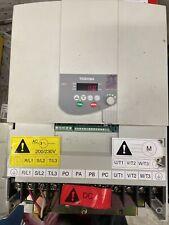 New Toshiba Tosvert VF 15hp Transistor Inverter 200/230V VFD VFS9-2110PM-WN(1)