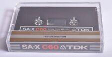 TDK SA-X C60 Blank Cassette ( Unused )