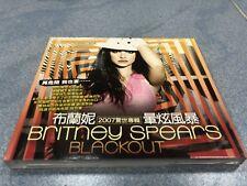 2007 BRITNEY SPEARS BLACKOUT TAIWAN LTD 12 TRACKS SLIPCASE CD GIMME MORE RADAR