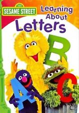 Learning About Letters With Sesame Street DVD Region 1 074645127491