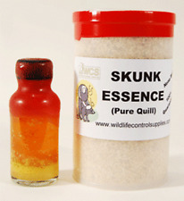100% pure skunk essence ( pure quill ) 4 ounce bottle super powerful