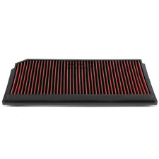 Fit 06-08 Gti/Jetta 2.0 Turbo Red Reusable&Washable High Flow Panel Air Filter