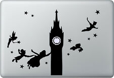 Apple MacBook Air Pro + PETER PAN + Aufkleber Sticker Decal Skin + London Fee