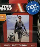 "Disney Star Wars The Force Awakens 40"" x 50"" Fleece Soft Throw Blanket"