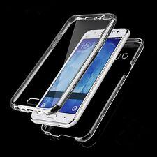FRONT & Back CHIARA 360 ° protezione completa gel copertura pelle caso per Samsung J5 2016