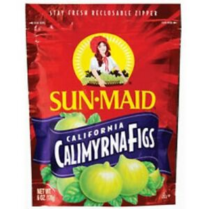 Sun Maid California Calimyrna Figs Dried Fruit