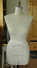New listing Vintage Wolf Ny Model Dress Form Women Mannequin Cast Iron Base Spin Pickup Only
