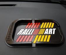 Ralliart Anti Slip Mat Car Dashboard Sticky Pad Phone Holder For Mitsubishi