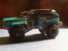 MATCHBOX RUMBLE RAIDER MB925 - BLACK & BLUE -APPROX.1:64 DIECAST