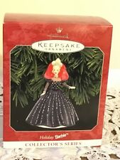 1998 Holiday Barbie Hallmark Collector's 6th Series Christmas Ornament in Box