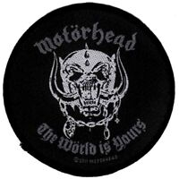 Motorhead The World Is Yours Patch Official New