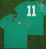 Northern Ireland Shirt - Toffs Retro Football Shirt - Number 11 - George Best