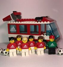 LEGO 3426 Soccer Team Transport Bus - Adidas Edition With Minifigures Complete